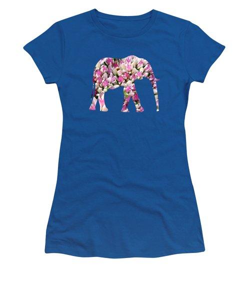 Abstract Sedum Women's T-Shirt (Junior Cut) by Christina Rollo
