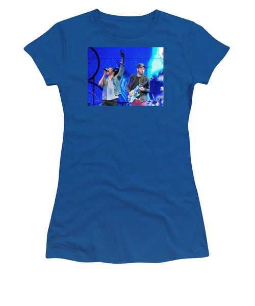 Coldplay6 Women's T-Shirt (Junior Cut) by Rafa Rivas