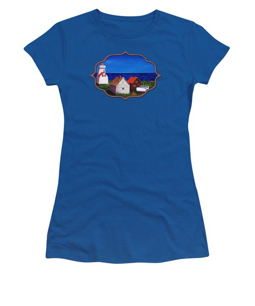 North Rustico - Prince Edwards Island Women's T-Shirt (Junior Cut) by Anastasiya Malakhova