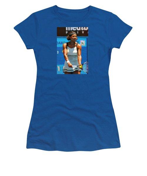 Serena Williams Women's T-Shirt (Junior Cut) by Andrei SKY