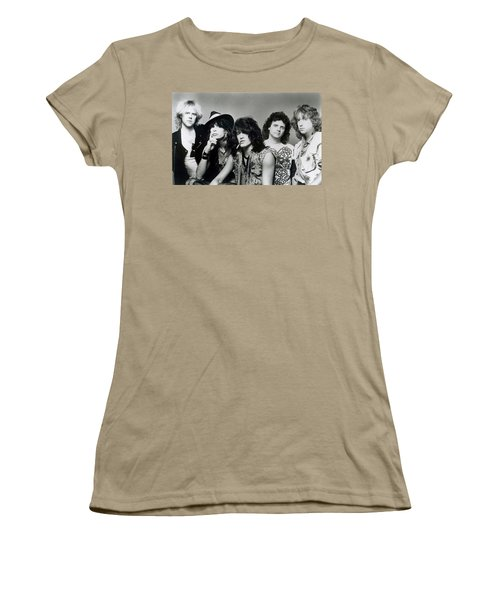 Aerosmith - What It Takes 1980s Women's T-Shirt (Junior Cut) by Epic Rights