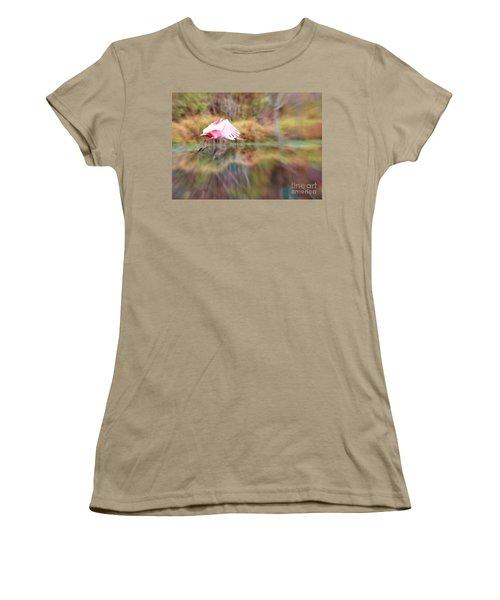 Birds Eye View Women's T-Shirt (Junior Cut) by Carol Groenen