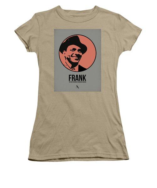 Frank Poster 1 Women's T-Shirt (Junior Cut) by Naxart Studio