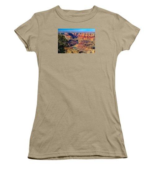 Grand Canyon Sunset Women's T-Shirt (Junior Cut) by Robert Bales