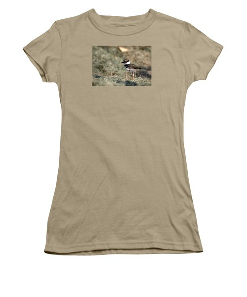 Its A Killdeer Babe Women's T-Shirt (Junior Cut) by Skip Willits