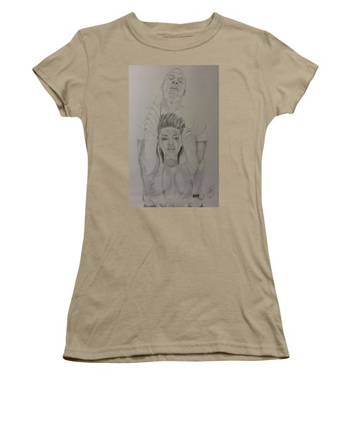Jaybey Women's T-Shirt (Junior Cut) by DMo Herr