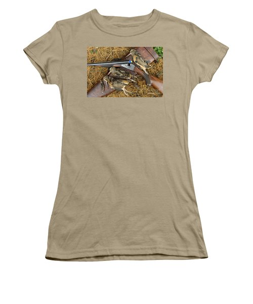 Lefever And Timberdoodle - D004023 Women's T-Shirt (Junior Cut) by Daniel Dempster