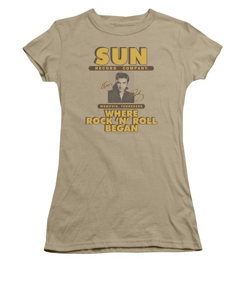 Sun - Sun Ad Women's T-Shirt (Junior Cut) by Brand A
