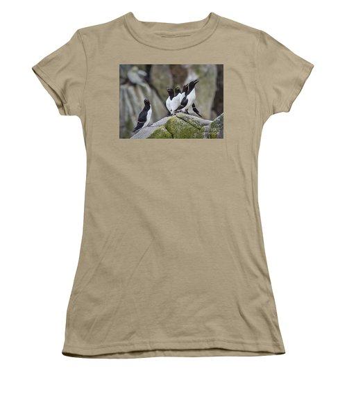 The Chorus Line Women's T-Shirt (Junior Cut) by Evelina Kremsdorf
