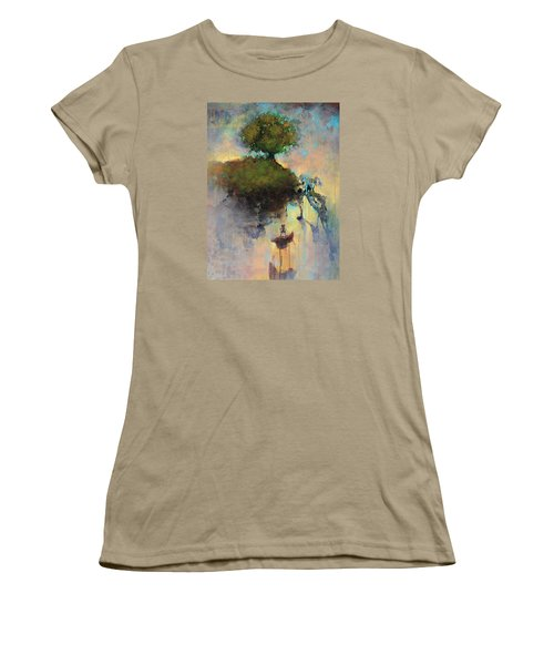 The Hiding Place Women's T-Shirt (Junior Cut) by Joshua Smith