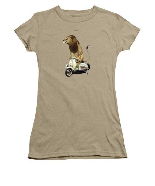 Lamb Women's T-Shirt (Junior Cut) by Rob Snow