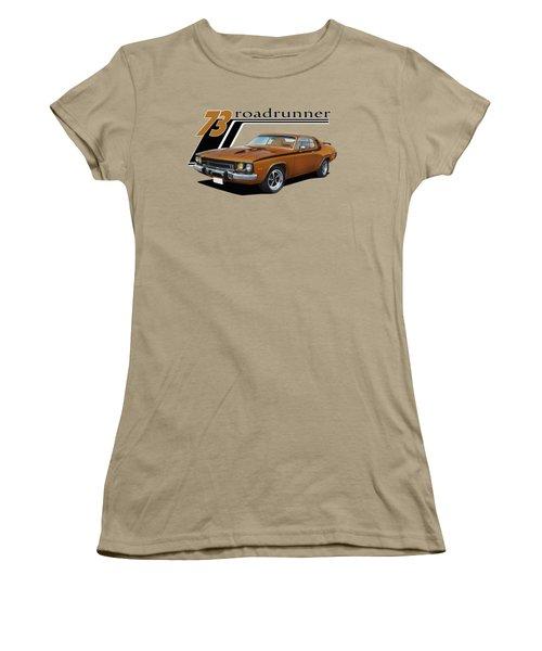 1973 Roadrunner Women's T-Shirt (Junior Cut) by Paul Kuras