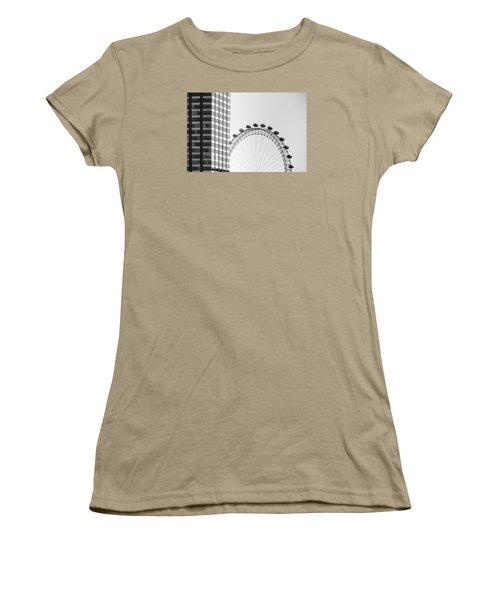 London Eye Women's T-Shirt (Junior Cut) by Joana Kruse