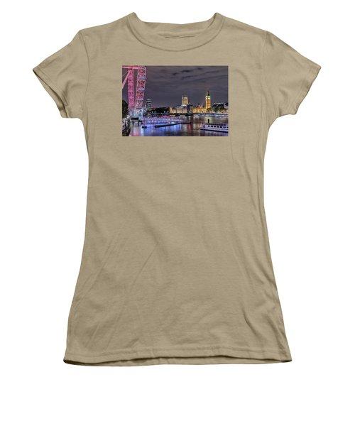Westminster - London Women's T-Shirt (Junior Cut) by Joana Kruse
