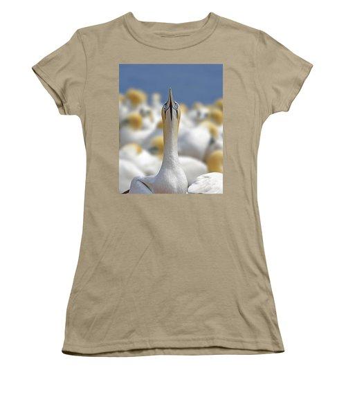 Ahead Women's T-Shirt (Junior Cut) by Tony Beck