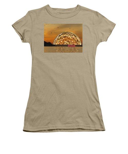 Albatross Setting Women's T-Shirt (Junior Cut) by Tim Allen