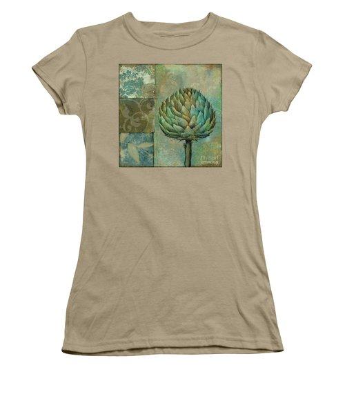 Artichoke Margaux Women's T-Shirt (Junior Cut) by Mindy Sommers