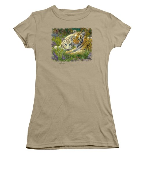 Sisters Women's T-Shirt (Junior Cut) by Lucie Bilodeau