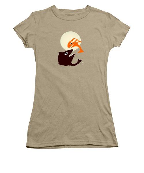 Magic Fish Women's T-Shirt (Junior Cut) by Anastasiya Malakhova