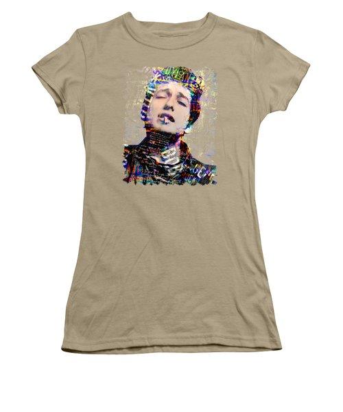 Bob Women's T-Shirt (Junior Cut) by Mal Bray