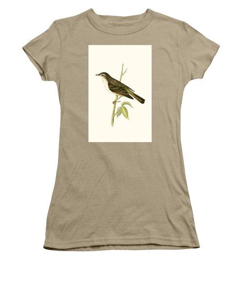 Bonelli's Warbler Women's T-Shirt (Junior Cut) by English School
