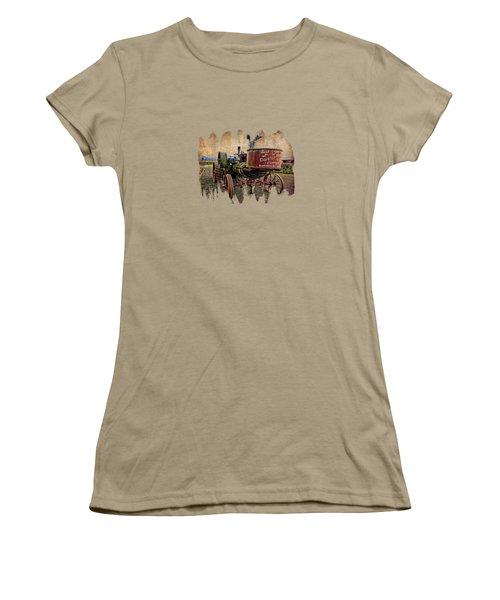 Buffalo Pitts Women's T-Shirt (Junior Cut) by Thom Zehrfeld