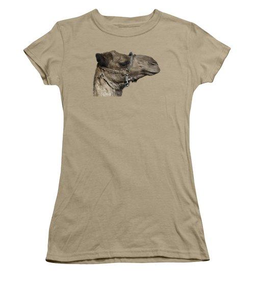 Camel's Head Women's T-Shirt (Junior Cut) by Roy Pedersen