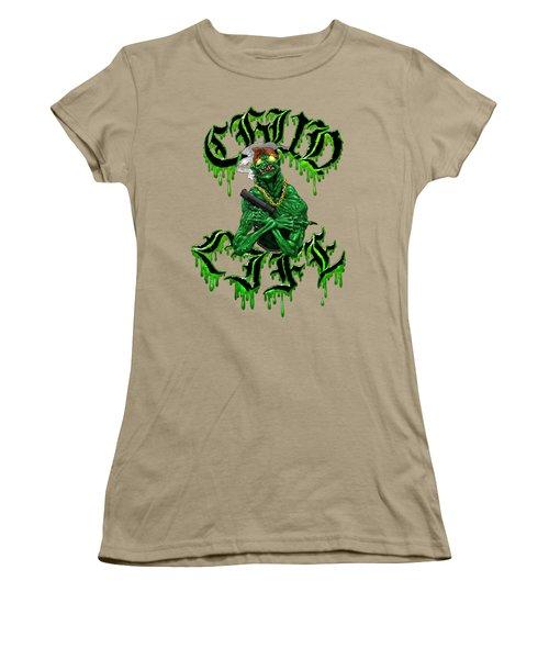 C.h.u.d. Life Women's T-Shirt (Junior Cut) by Kelsey Bigelow