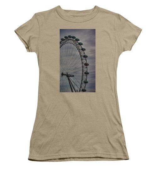 Coca Cola London Eye Women's T-Shirt (Junior Cut) by Martin Newman