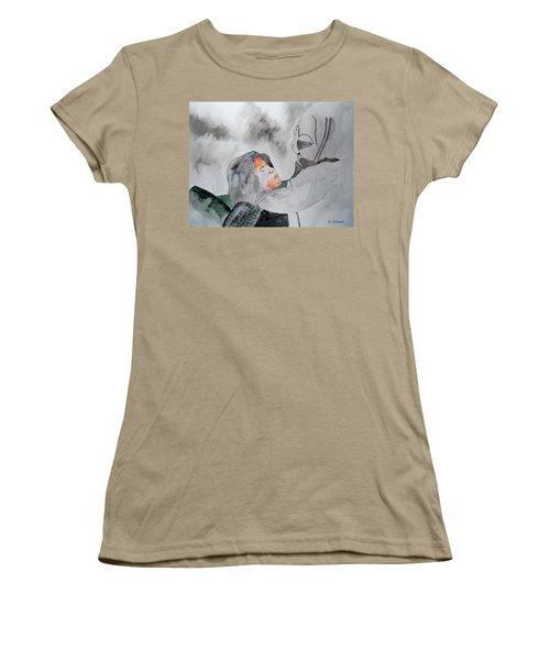 Dean Deleo - Stone Temple Pilots - Music Inspiration Series Women's T-Shirt (Junior Cut) by Carol Crisafi