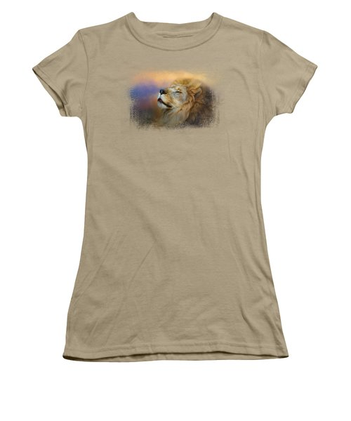 Do Lions Go To Heaven? Women's T-Shirt (Junior Cut) by Jai Johnson
