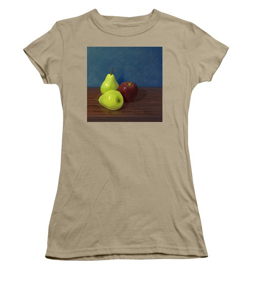 Fruit On A Table Women's T-Shirt (Junior Cut) by Jacqueline Barden