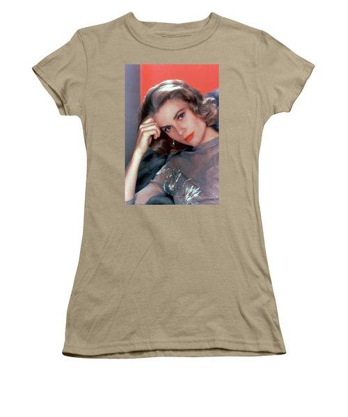 Grace Kelly Women's T-Shirt (Junior Cut) by American School
