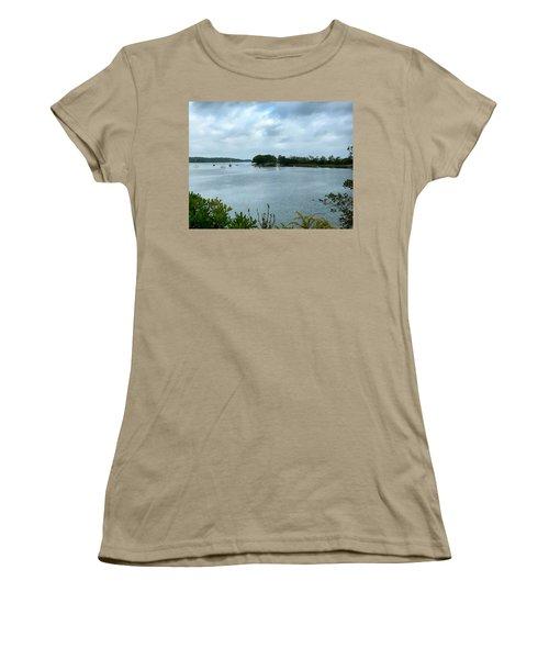 Harpswell, Maine No. 1 Women's T-Shirt (Junior Cut) by Sandy Taylor