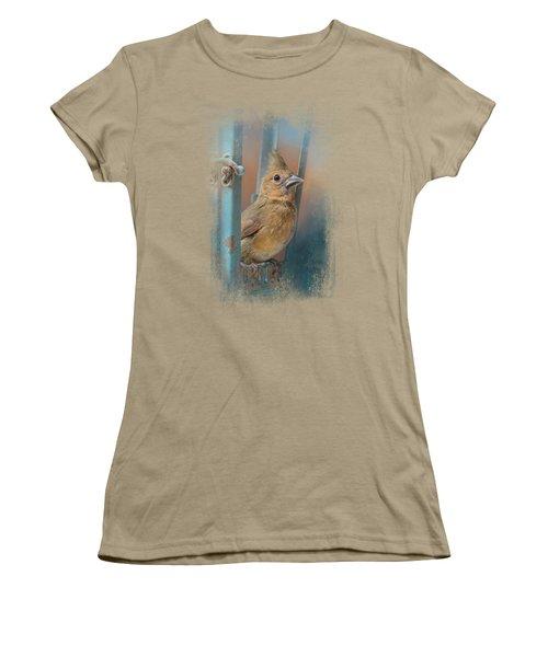 I Will Be Your Light Women's T-Shirt (Junior Cut) by Jai Johnson