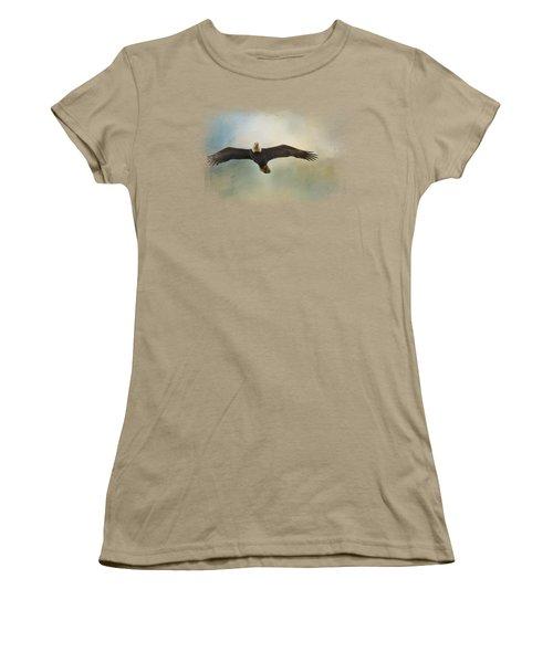 Inviting The Sun Women's T-Shirt (Junior Cut) by Jai Johnson