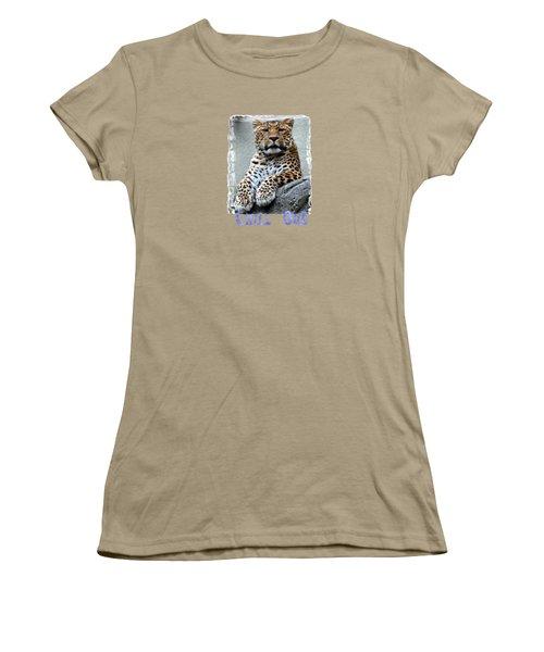 Just Chillin' Women's T-Shirt (Junior Cut) by DJ Florek