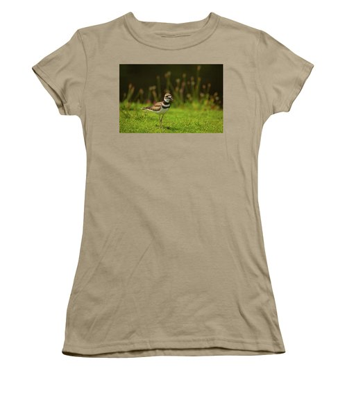 Killdeer Women's T-Shirt (Junior Cut) by Karol Livote