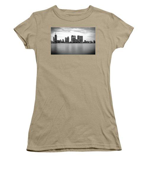 London Docklands Women's T-Shirt (Junior Cut) by Martin Newman