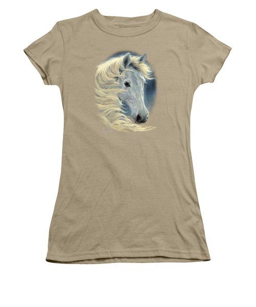 Midnight Glow Women's T-Shirt (Junior Cut) by Lucie Bilodeau