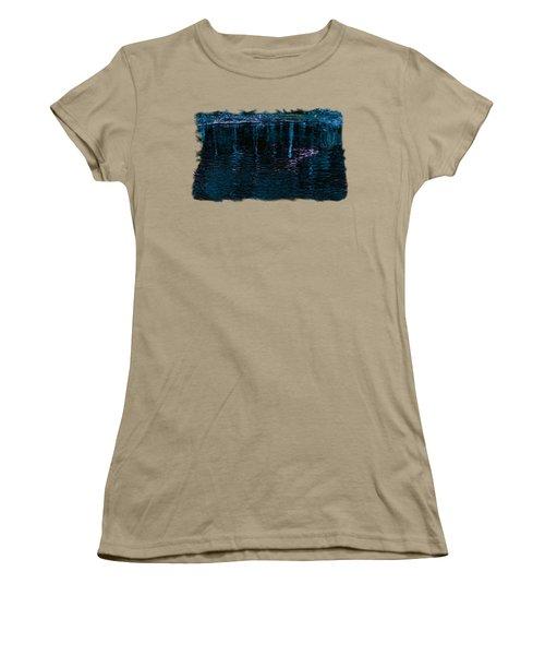 Midnight Spring Women's T-Shirt (Junior Cut) by John M Bailey