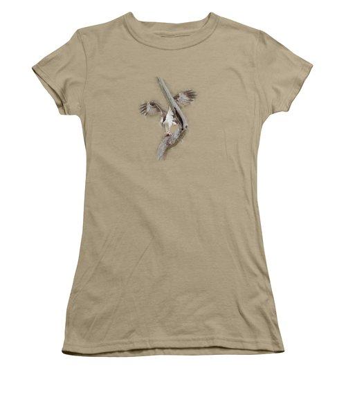 Osprey Tee-shirt Women's T-Shirt (Junior Cut) by Donna Brown