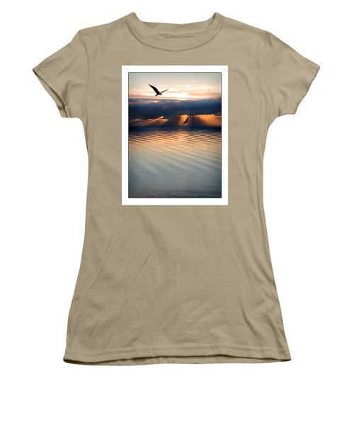 Ospreys Women's T-Shirt (Junior Cut) by Mal Bray
