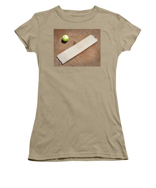 Pitchers Mound Women's T-Shirt (Junior Cut) by Kelley King