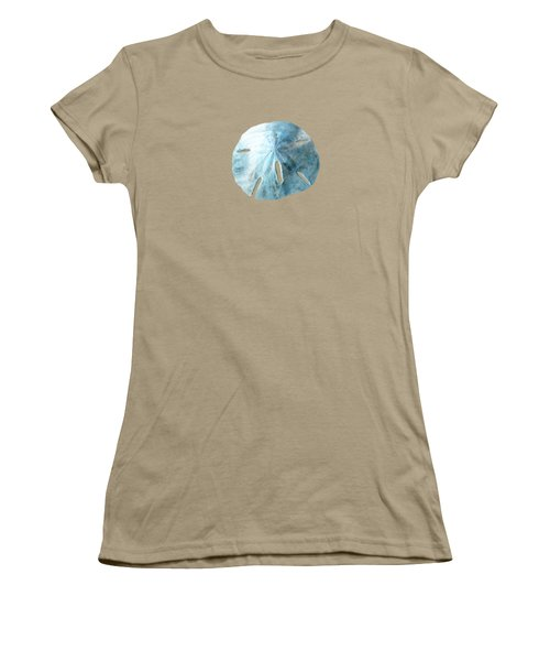 Sand Dollar Women's T-Shirt (Junior Cut) by Anastasiya Malakhova