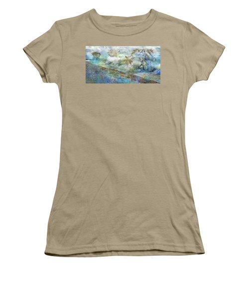 The Piano  Women's T-Shirt (Junior Cut) by Betsy Knapp