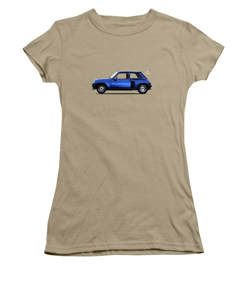 The Renault 5 Turbo Women's T-Shirt (Junior Cut) by Mark Rogan