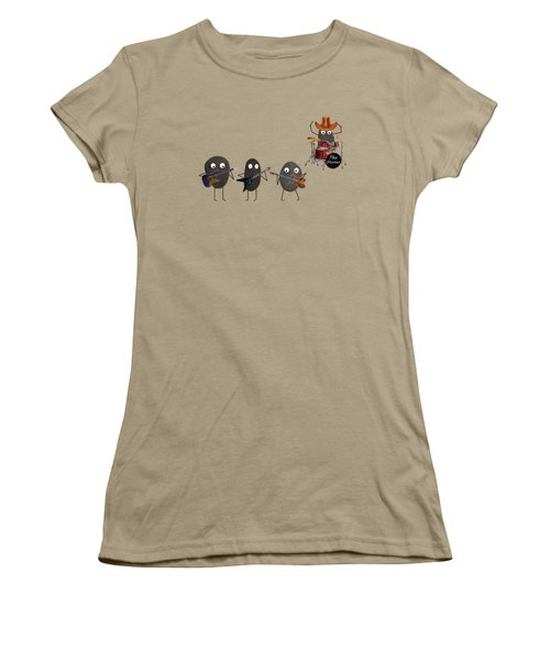 The Stones Women's T-Shirt (Junior Cut) by David Dehner