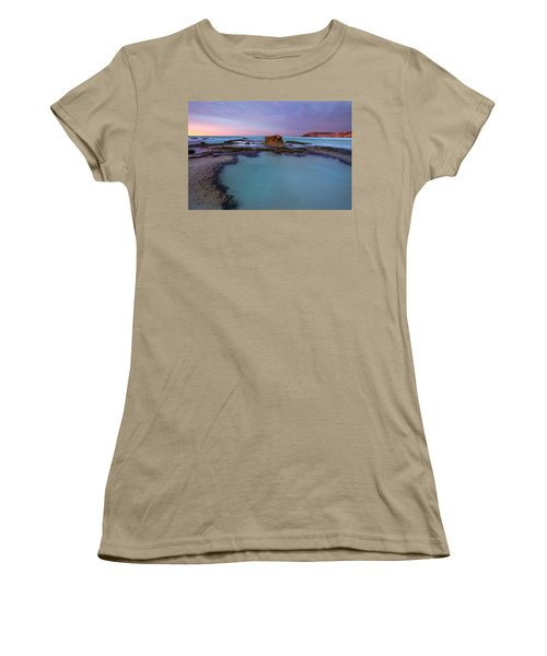 Tidepool Dawn Women's T-Shirt (Junior Cut) by Mike  Dawson