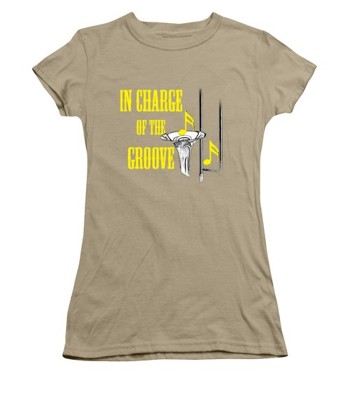 Trombones In Charge Of The Groove 5534.02 Women's T-Shirt (Junior Cut) by M K  Miller